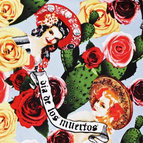 Hell Bunny London – 50er Jahre Kleid mit mexikanisch Alloverprint - 4