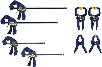 Irwin Tools IRHT83220 QUICK-GRIP Clamp Set, 8 Piece (New Model)