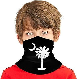 Wthesunshin Bufanda Niños Calentadora De Cuello Logotipo de la Bandera del Estado de Carolina del Sur Bufanda de Invierno ...