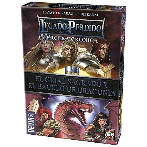 Devir - Legado perdido 3, el Grial Sagrado y el báculo de Dragones (BGLEG3)