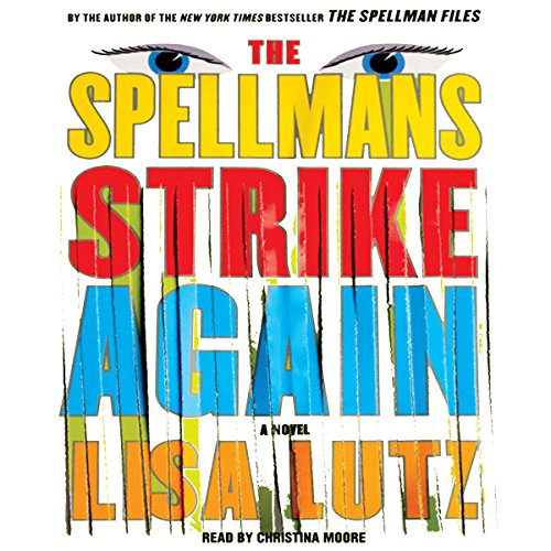 The Spellmans Strike Again audiobook cover art