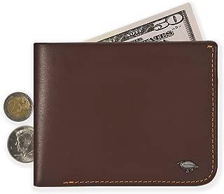 Ikepod Men's Hide & Carry Wallet | Premium Italian Genuine Leather [ Super Slim Bilfold Stitching !]