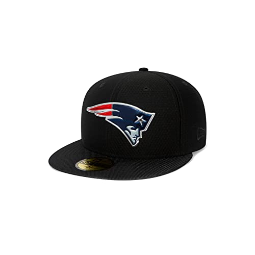 f11735abba7 New Era New England Patriots NFL Black Collection 59fifty 5950 Fitted Cap  Basecap Kappe Mens
