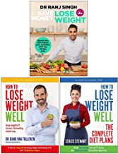 Save Money Lose Weight, How to Lose Weight Well, The Complete Diet Plans 3 Books Collection Set