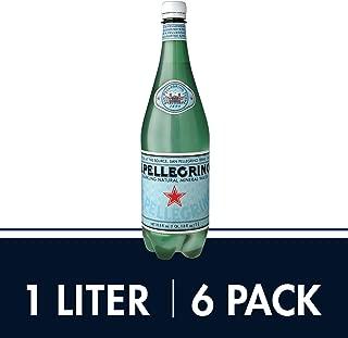 Sanpellegrino Sparkling Natural Mineral Water, 33.8 Fl Oz (Pack of 6)