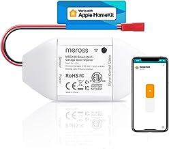 meross Smart Garage Door Opener Remote, Compatible with Apple HomeKit, Amazon Alexa, Google Assistant, SmartThings, Multip...