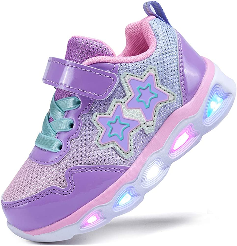SINOSKY Girls Led Shoes Sneakers All stores are sold Up Max 52% OFF Flashing Light