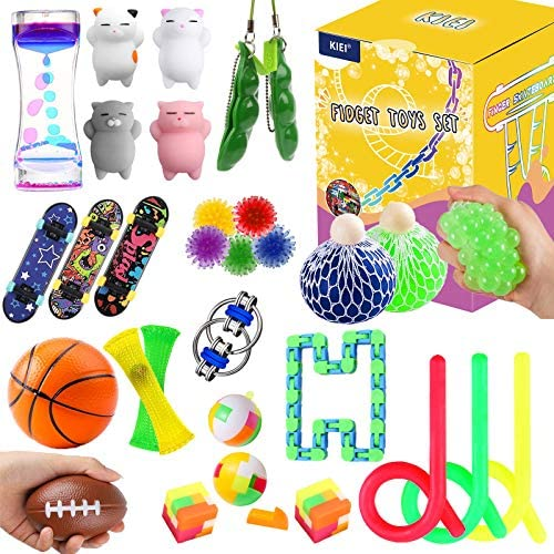Fidget Toys Set 30 Pack Sensory Toys Pack for Stress Relief ADHD Anxiety Autism for Kids Adults product image