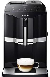 Siemens TI351209RW Cafetera Espresso Superautomática, EQ.300, 1300 W, 1.4 litros, Plástico, Negro
