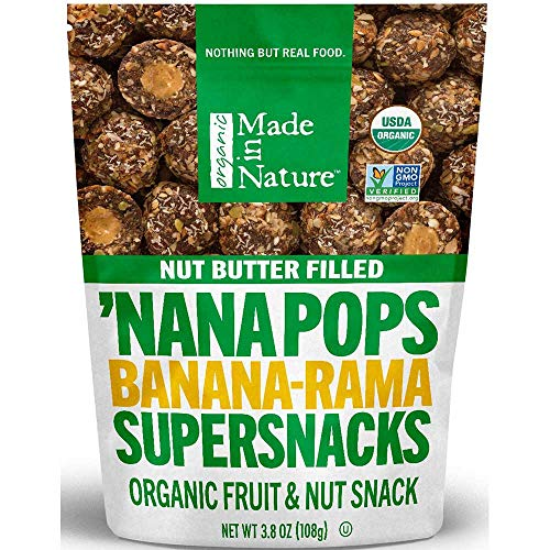 Made in Nature Nana Pops Organic Fruit and Nut Snacks -- 6 per case.
