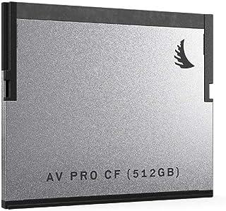 Angelbird 512GB AV Pro CF SATA III CFast 2.0 Memory Card, 550MB/s Read, 450MB/s Write