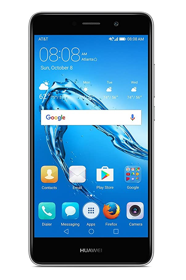 Huawei Ascend XT (2nd Gen) 4G LTE Cell phone Metallic Silver - GSM Unlocked