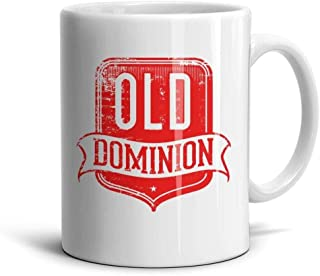 ENGXG11 Musice Cool Special White Novelty Daily Use Inspirational Music Fests Old-Dominion-Logo-Red- Coffee Mug Teamugs Brithday Gift Office Lovers Home Decor Engagements Anniversaries Souvenir Cup