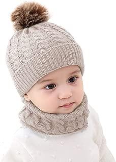 baby pom pom scarf