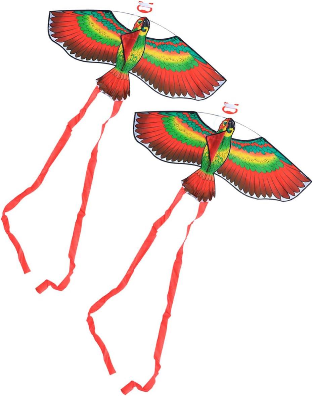 BESPORTBLE 2 Sets Parrot Flying Kites San Diego Mall Boys Childr for Kids Cheap SALE Start Girls