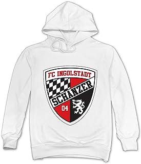 MSKOOK Men's Ingolstadt 04 FC Hooded Sweatshirt