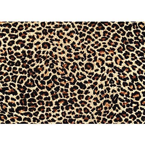 Fototapete 254x184 cm PREMIUM Wand Foto Tapete Wand Bild Papiertapete - Tiere Tapete Gepard Fell Muster Flecken Tierfell schwarz - no. 533