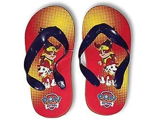 Flip Flops Chase, Marshall & Ruble Summer Sandals Boys Size 11/12, 13/1 & 2/3