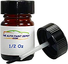 ISUZU OASIS Matte Black 001-P11 1/2 Oz Touch Up Paint with Brush (For All Year)