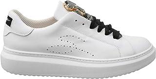 Tosca Blu Sneaker Donna Agata Bianca con Pietre e Stringhe in Raso - SS2101S007 C99 - Taglia