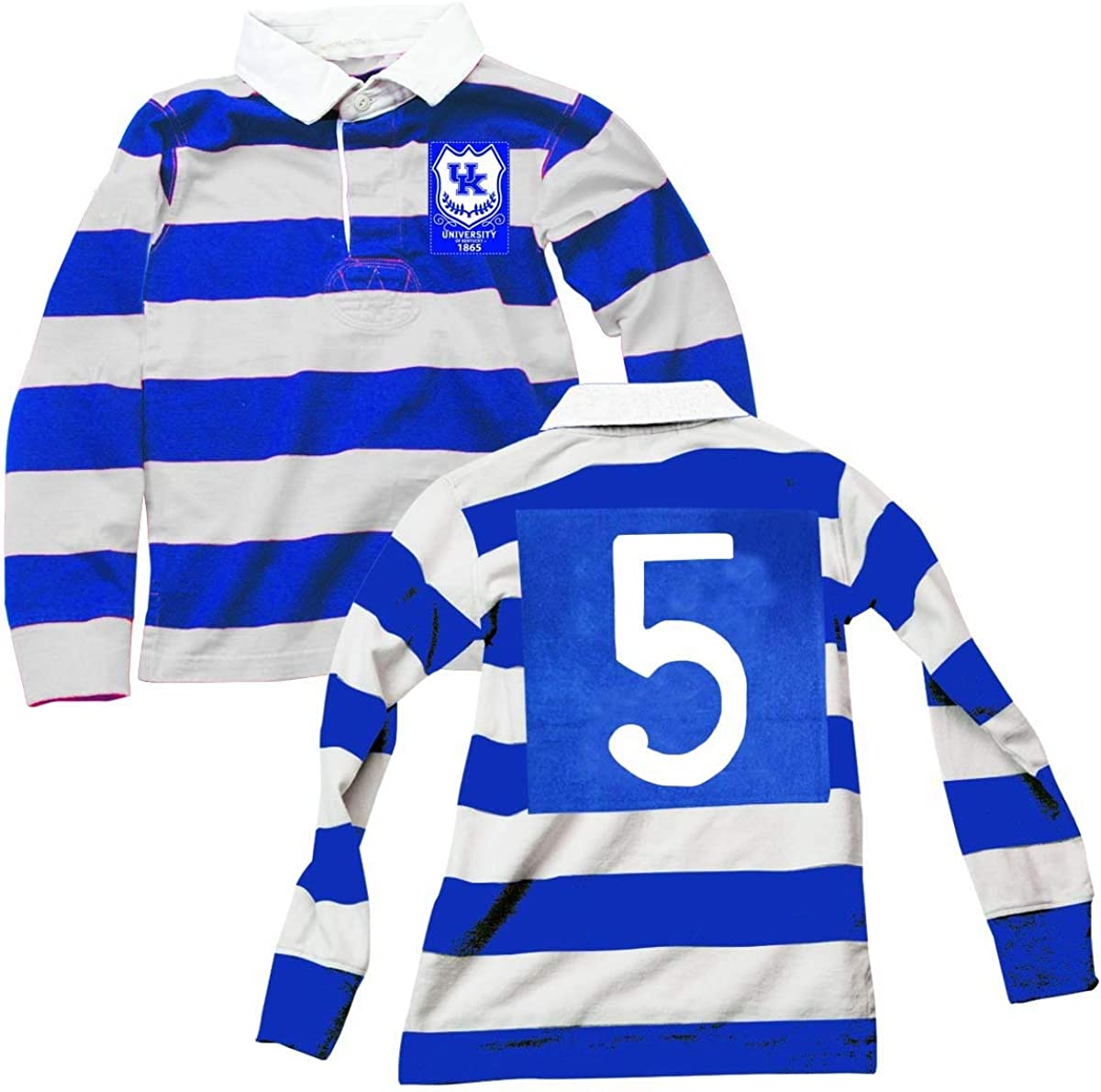 Wes & Willy Kentucky Wildcats Boy's Rugby Polo
