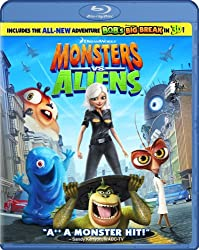 Best Halloween Movies for Kids - Monsters vs. Aliens