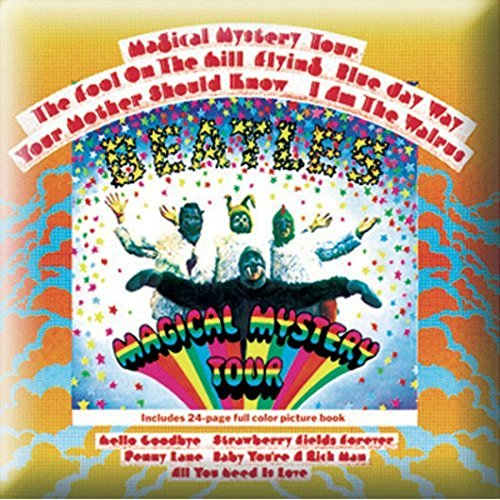 Magical Mystery Tour Album Pin Badg