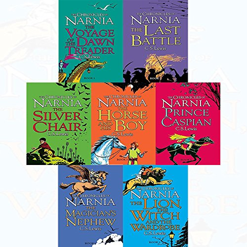 C s lewis chronicles of narnia series 7 books collection set