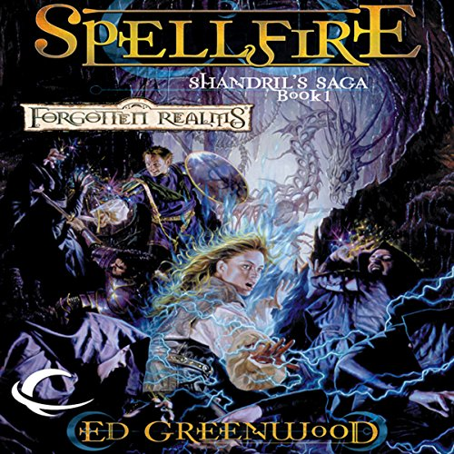 Spellfire audiobook cover art