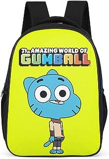 Mochila escolar para niños The Amazing World of Gumball azul gato animal Mochila de diseño mochila de día para bebé niño niña