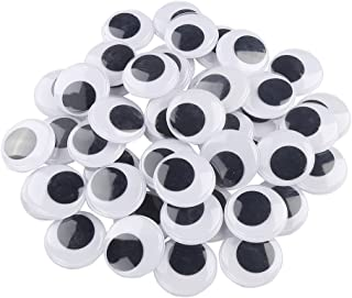 DECORA 20mm 500pc Round Wiggle Googly Eyes with Self-Adhesive