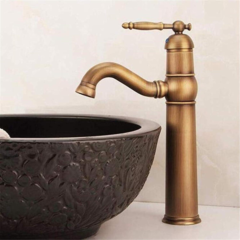 Modern Hei Und Kalt Wasserhahn Vintage überzugarmaturen Waschtischarmatur Hohe Einlochmontage Bad Waschbecken Wasserhahn