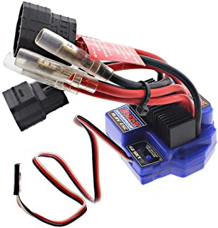 TRAXXAS EVX-2 ELECTRONIC SPEED CONTROL WITH REVERSE FOR THE E-MAXX BRUSHED 16 VOLT DUAL BATTERY DUAL MOTOR SET-UP