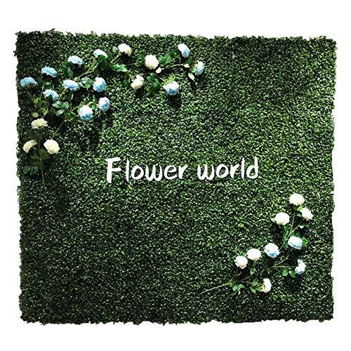 LVZAIXI Groene Plant Wanddecoratie-groenblijvende Kunstplanten Muur, Foto Studio/Raam Decoratie Achtergrond