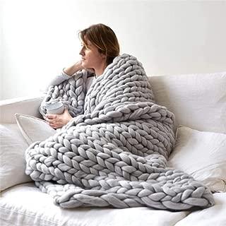 Best chunky knit blanket wool uk Reviews
