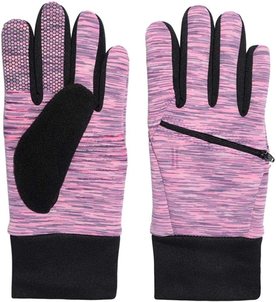 Igloos Women's Stretch Fleece Space Dye Touch Glove