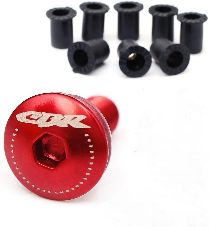 Engraving CBR Logo Black Windscreen Bolts Kit For Honda CBR600RR CBR1000RR 2003-2018 03 04 05 06 07 08 09 10 11 12 13 14 15 16 17 18 19 20 2020