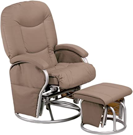 Hauck 687017 Metal-Glider 11 Relaxing & Nursing Chair, Cream