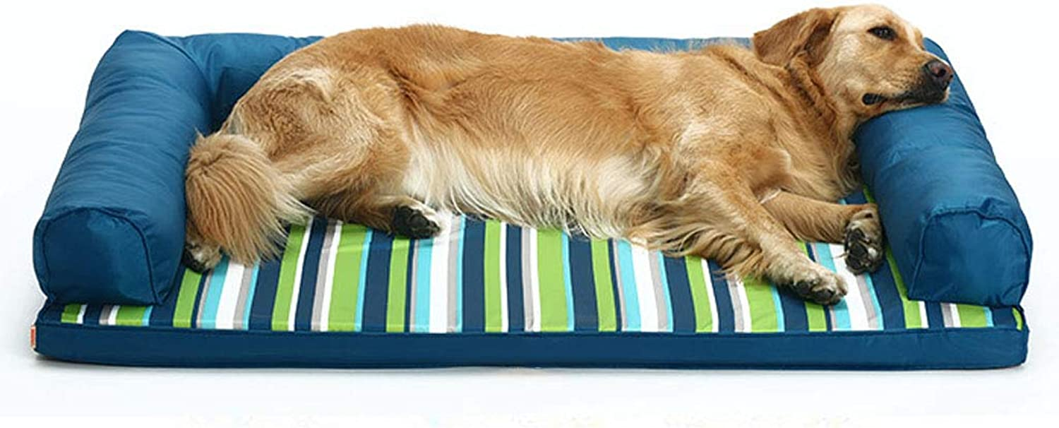 Pet Backpack Pet Sleeping Mat Oxford Cloth Bite Resistant to Catch Waterproof Dog Mats Four Seasons Universal  Large (4 Sizes) Beds (Size   80 cm)