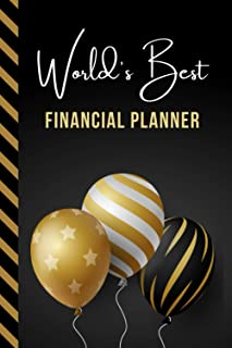 World's Best Financial Planner: Greeting Card and Journal Gift All-In-One Book! / Small Lined Composition Notebook / Birth...