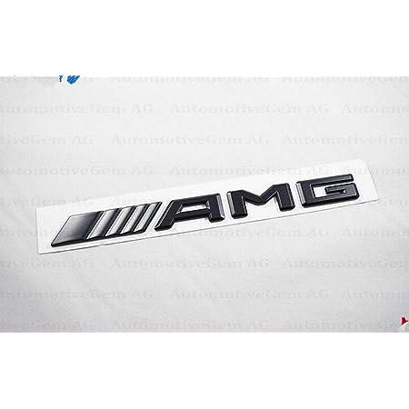 2017 Benz Amg Emblem Schwarz Kofferraum Logo Badge Für C43 C63 E43 E63 Auto