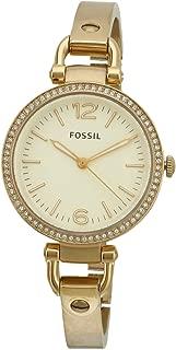 Fossil Women's ES3227 Georgia Glitz Gold-Tone Stainless Steel Watch with Gold-Tone Stainless Steel Bracelet
