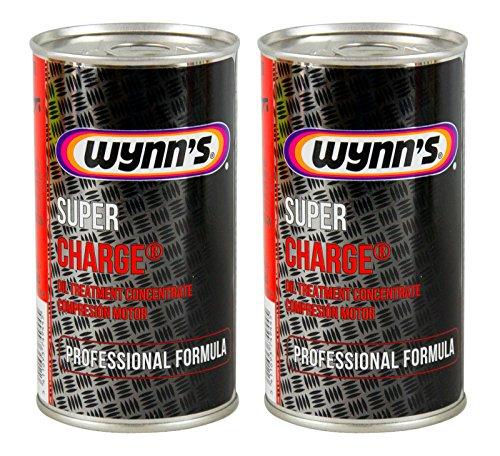 Wynn's 2X WYNNS Super Charge Motorölzusatz Ölzusatz Ölverbrauchstop 325 ml