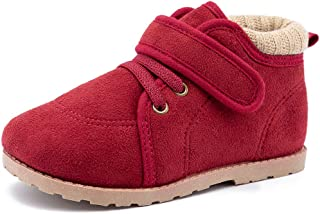 Booties Toddler Cotton Shoes Warm Soft Bottom Non-Slip Martin Boots Casual Sneakers