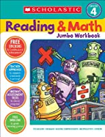 Scholastic Reading & Math Jumbo Workbook Grade 4