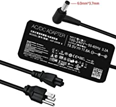 New Slim AC Charger for Asus ROG Zephyrus GL702V G752V GX501 GX501VI-GZ027T GX501VI-GZ025T GX501VI-GZ022T GX501VI-GZ021T GX501VI-GZ020T Laptop Power Supply Adapter Cord 230W Connector Size:6.0mm3.7