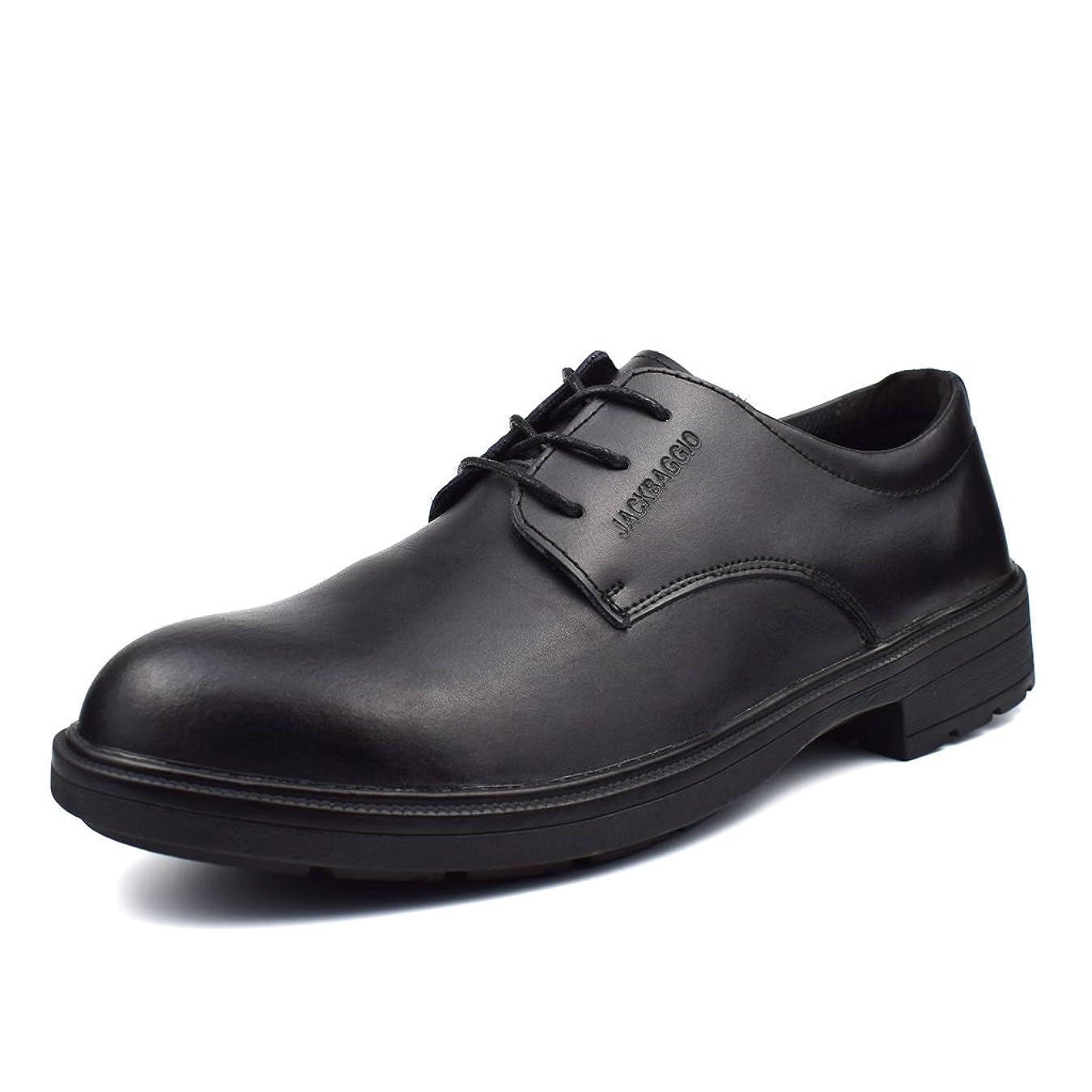 再編成する偽ボード[Placck] 安全 安全靴 コックシューズ 厨房シューズ 調理靴 作業靴 ビジネスシューズ 黒 防水 防滑 防油 24cm-27.5cm