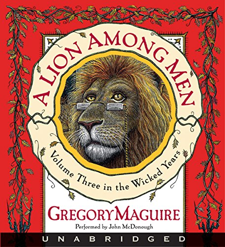 A Lion Among Men audiobook cover art