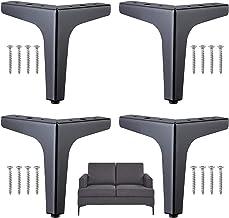 Meubelpoten met schroeven Bankpoten Metalen tafelpoot Metalen meubelpoten Meubelpoot voor kast Bank Tv kast Meubelpoten me...