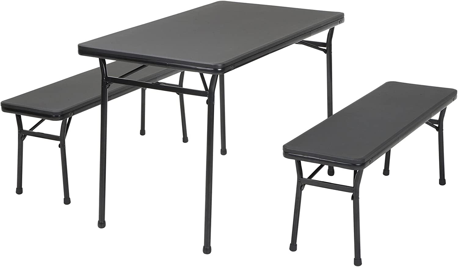 Cosco Products 37129RBK2E 18  x 26  Indoor Outdoor Adjustable Height Personal Folding Tailgate Table, Red, 2 Pack